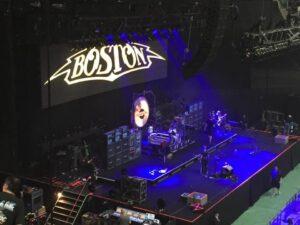 バンド「ボストン」の日本武道館ライブ