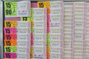 タイの宝くじ券3